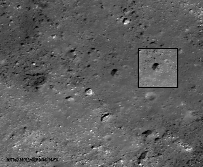 Потерпевшие аварию нло есть и на луне