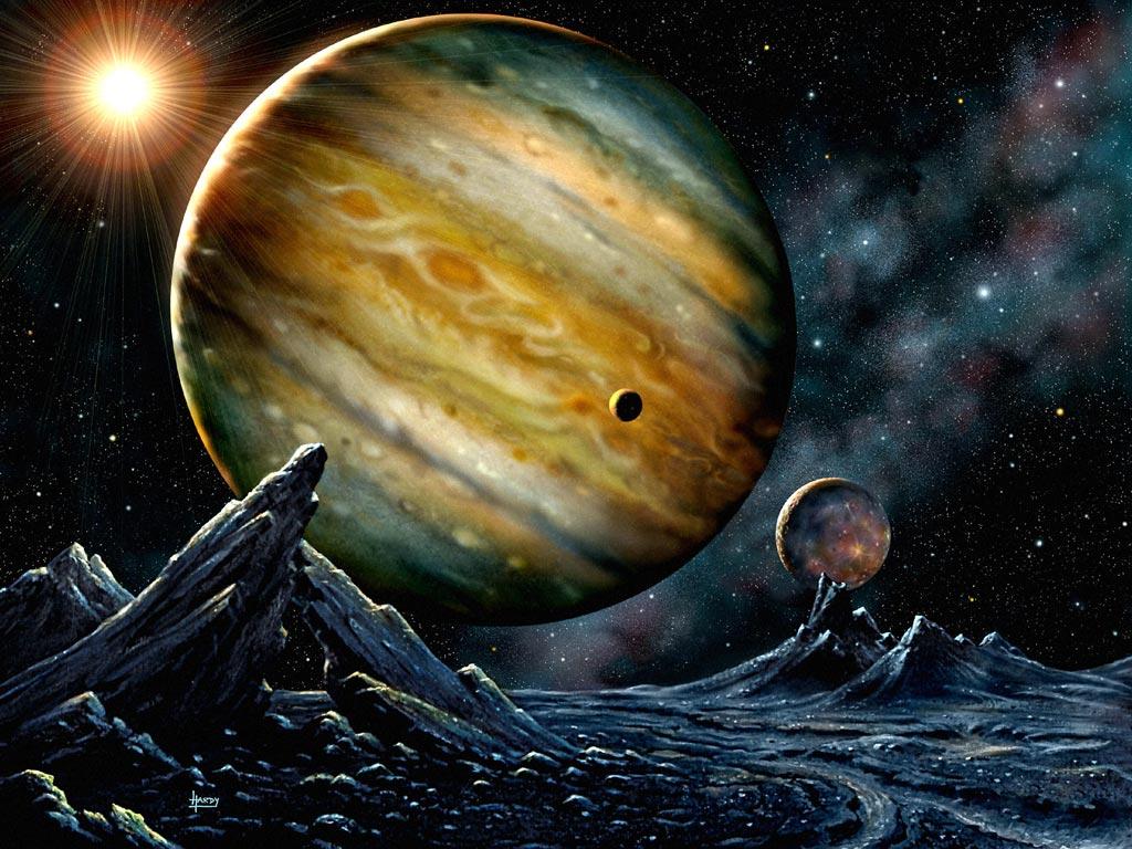 Планета-гигант - Юпитер