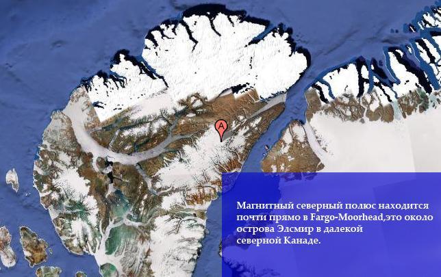 """...магнитного поля буквально  """"бегут """" от южного полюса к северному полюсу."""