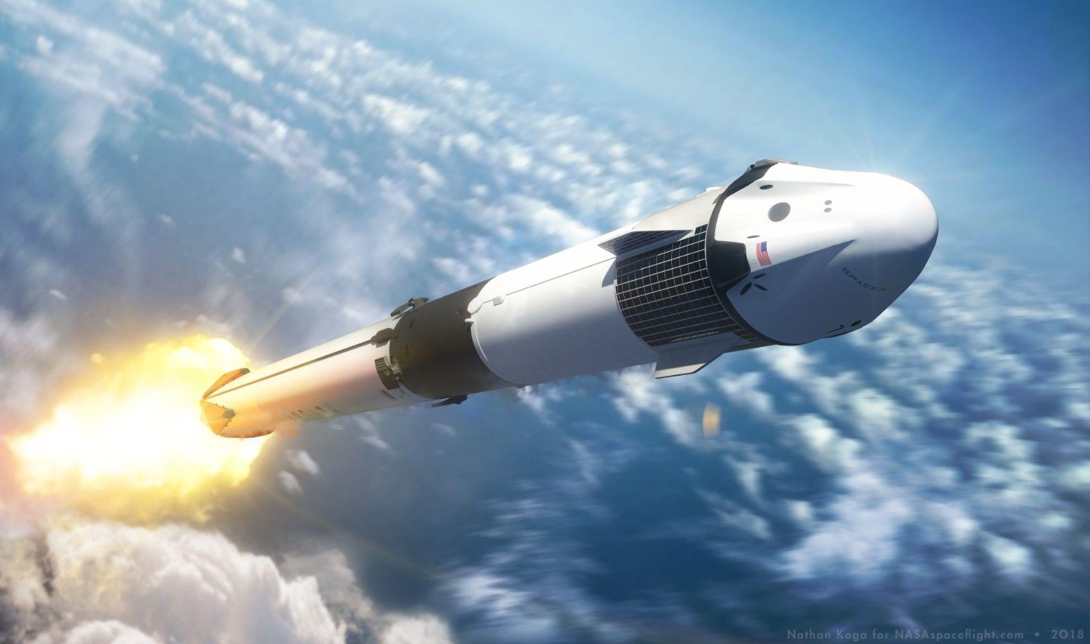 Илон Маск: первое испытание Crew Dragon будет особенно опасным