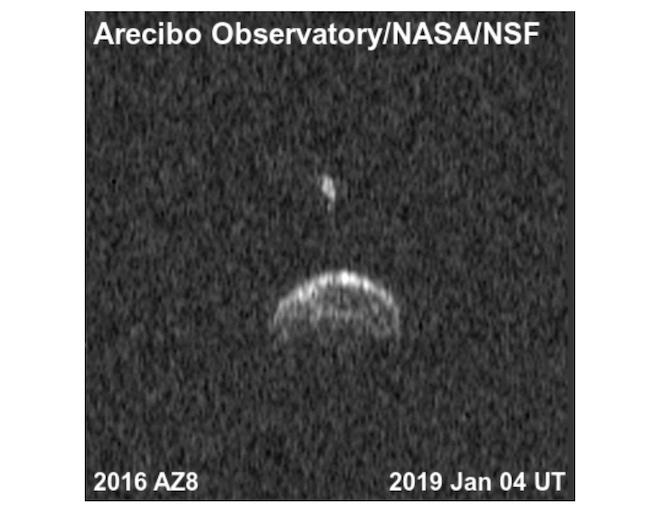 У пролетевшего мимо Земли астероида обнаружили луну