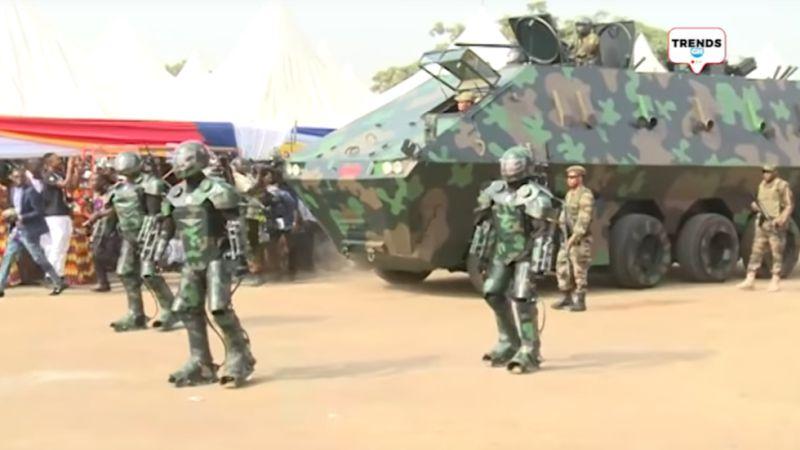 Инженеры Республики Гана обогнали в военных технологиях украину!