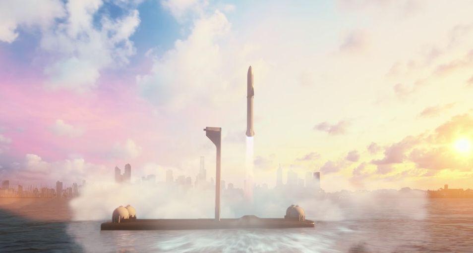 Илон Маск показал фото нового космического корабля SpaceX Starship