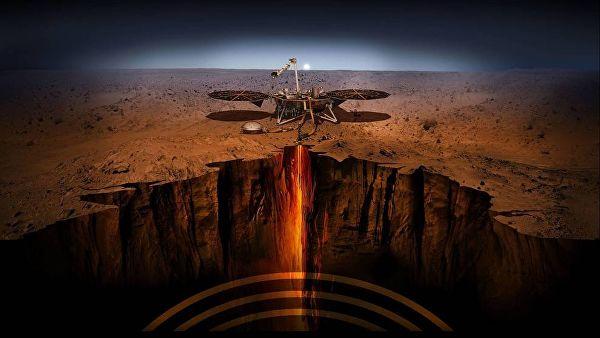 Зонд InSight официально приступил к поискам следов