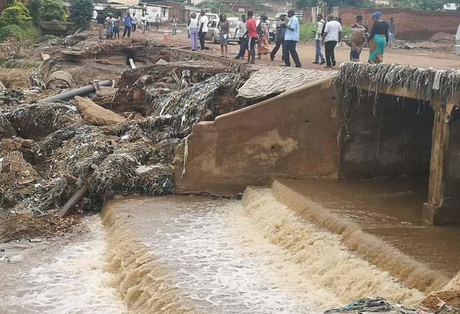 Штормы и наводнения в Юго-Восточной Африке унесли жизни 22 человек