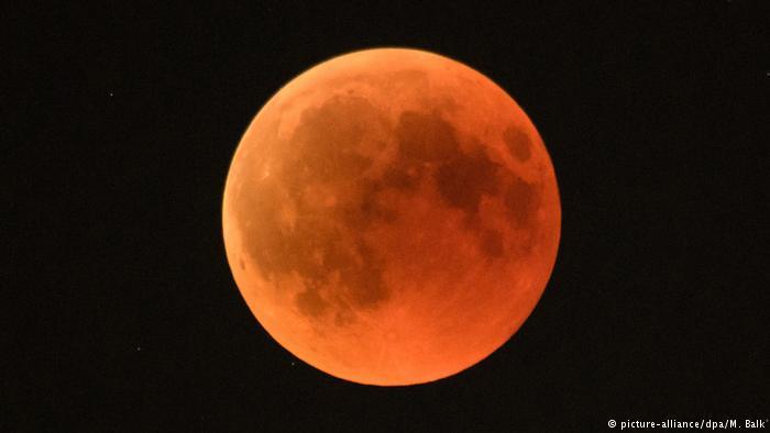 Кровавая Луна и другие небесные феномены 2019 года