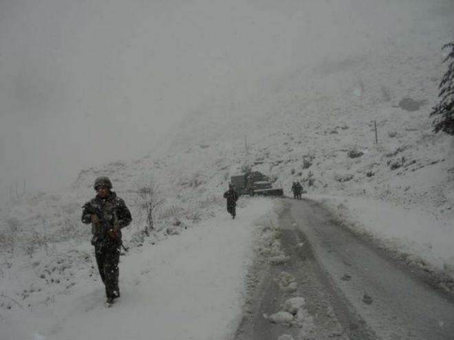 "Алжир ""погребен"" под снегом"