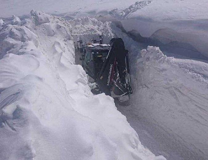 Турцию замело снегом