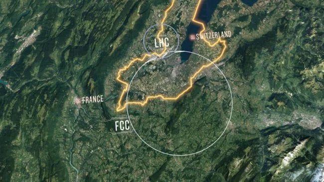 ЦЕРН хочет построить еще более огромный коллайдер
