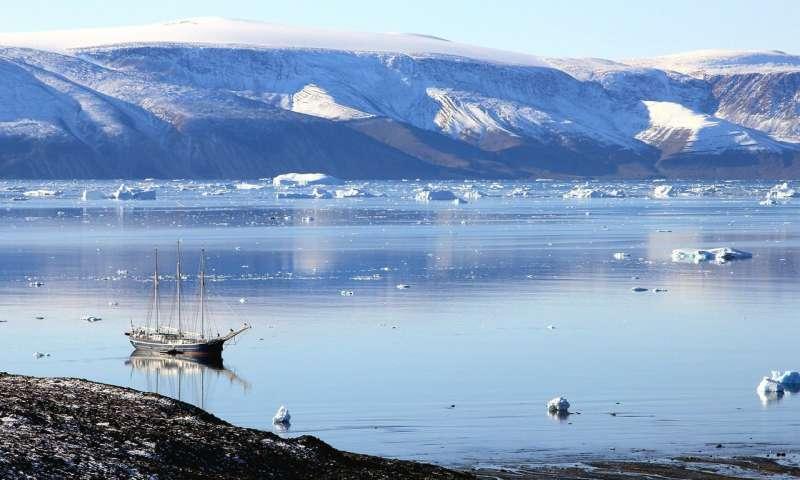 2009 vs 2019: что случилось с ледником в Гренландии