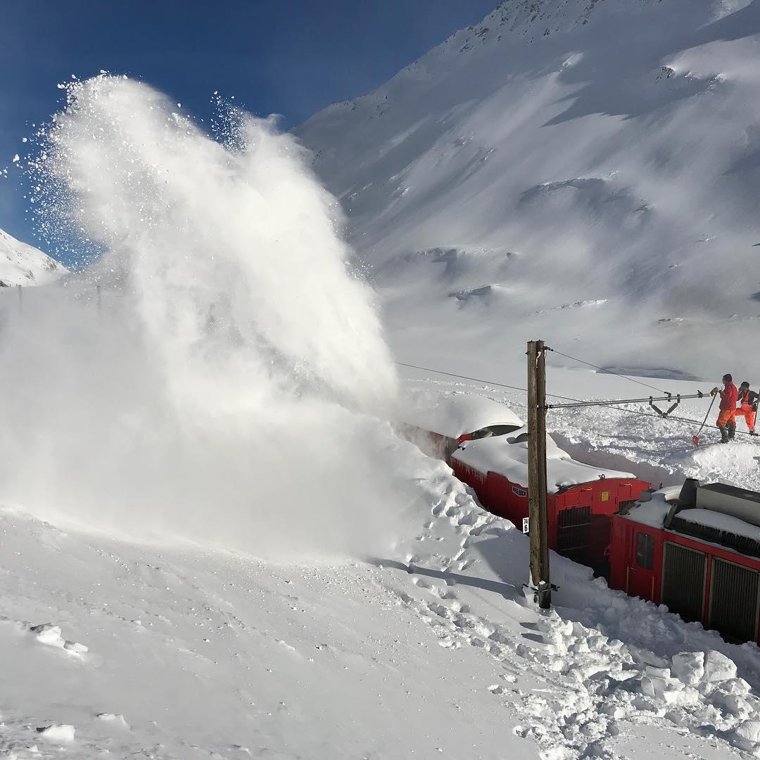 В Альпах выпало 6 метров снега