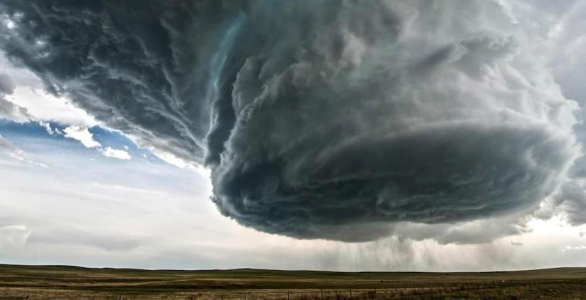 Глобальное потепление стало причиной роста экстремальных штормов