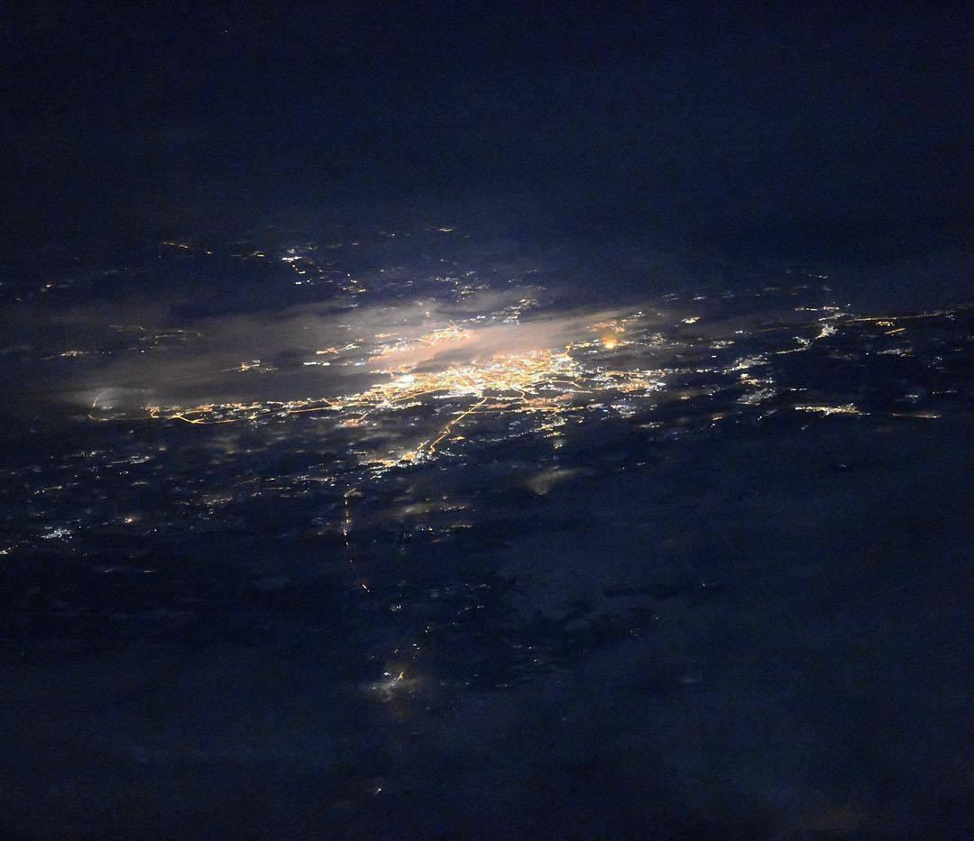Космонавт поделился уникальным фото Санкт-Петербурга