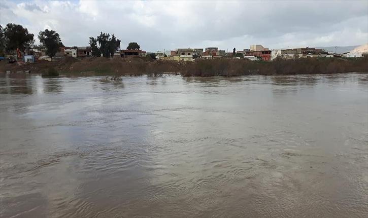 Наводнение в Тунисе
