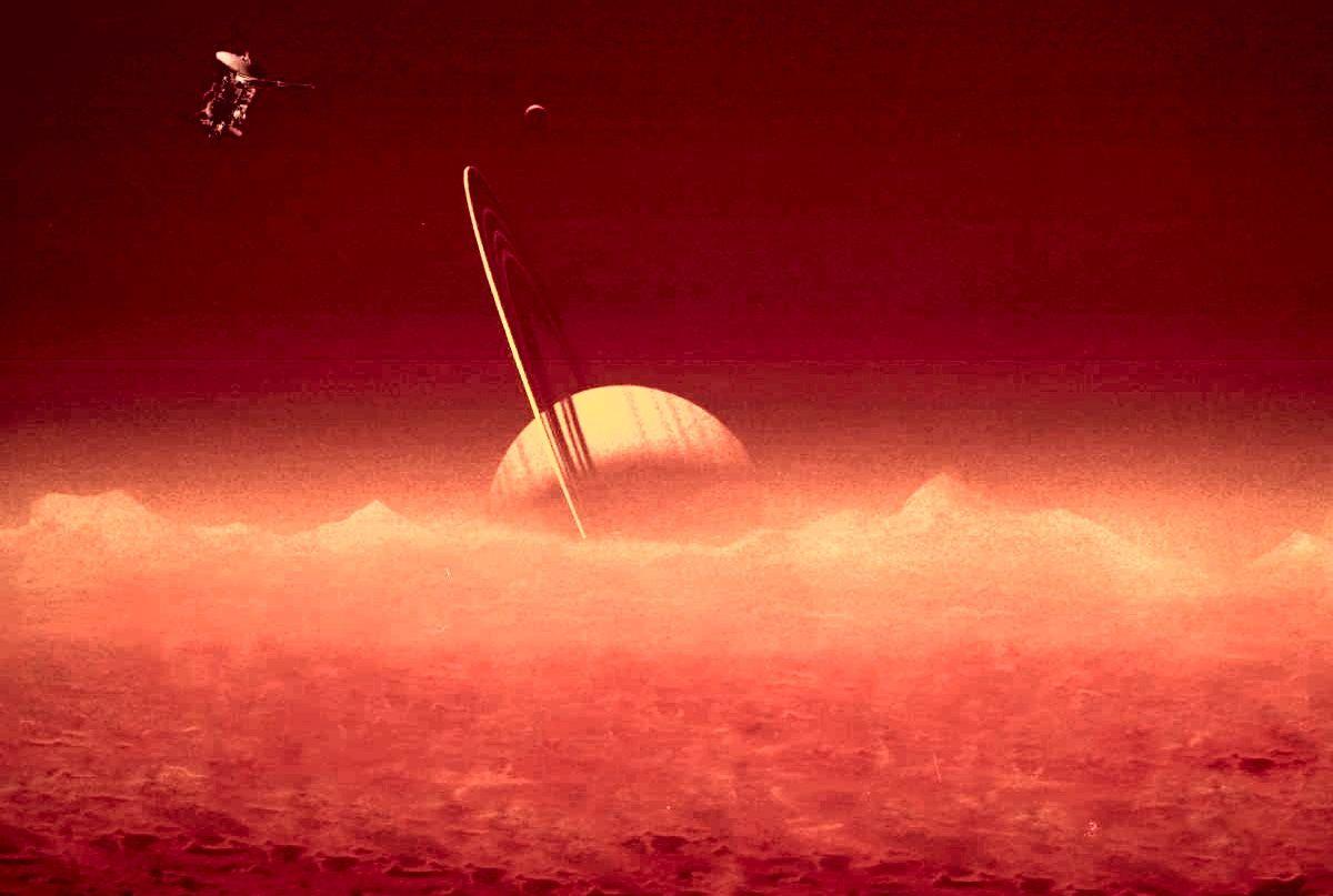 Раскрыта загадка происхождения атмосферы на Титане