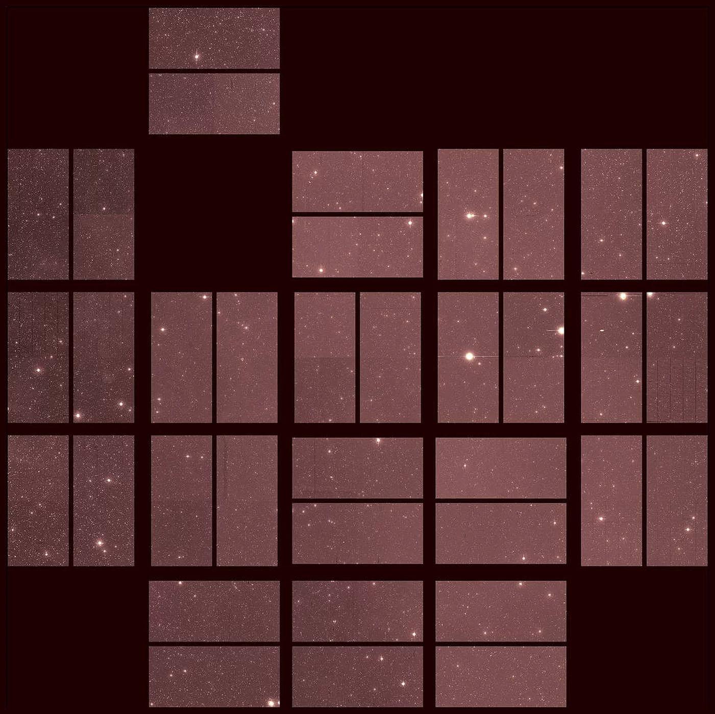 Прощальный снимок звездного неба от космического телескопа Kepler