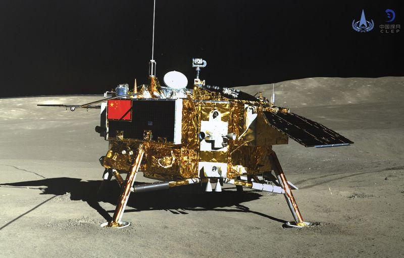 Температура на Луне в ночное время опускается до минус 190 градусов Цельсия