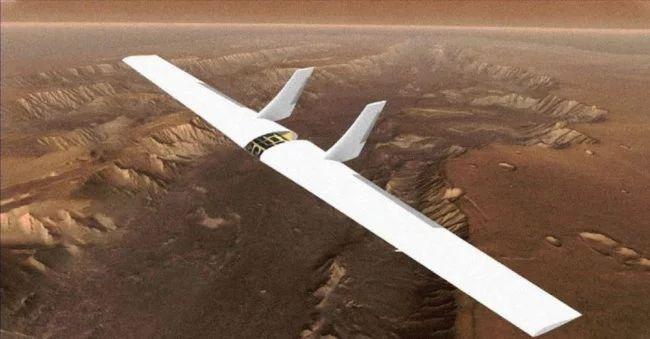 Марс предложено исследовать с помощью надувных БПЛА