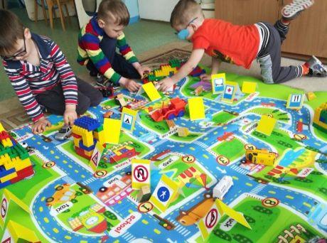 игра о дороге для детей