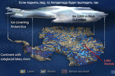 секретные фото антарктиды