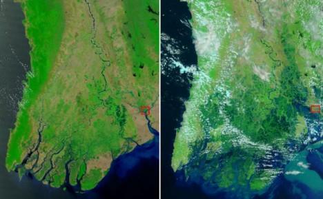 Фото слева сделано 28 ноября 2008г а фото
