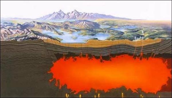 Ученые поведали одате извержения вулкана Йеллоустоун