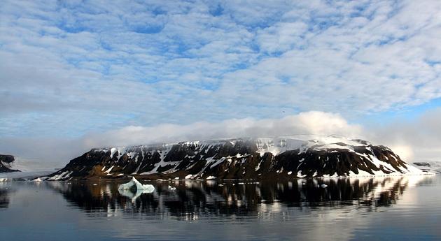 В Северном Ледовитом океане появился новый остров | Земля - Хроники жизни