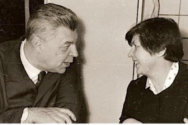 Иван Ефремов и его жена Тая. Фото: Из архива писателя.