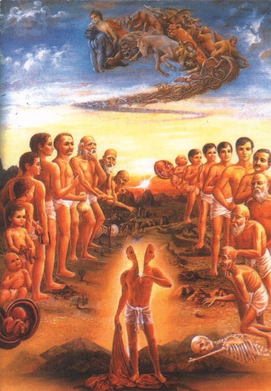 размышление о жизни после смерти и перерождении душ