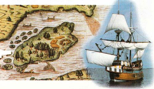 Королева Елизавета 1 подумывала о колониях в Северной Америке.  Сэр Уолтер Рейли