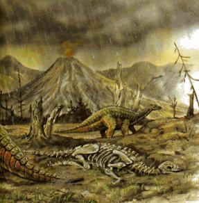Динозавров убила серия из двух ударов: вулканы и удар астероида CVAVR AVR CodeVision cvavr.ru