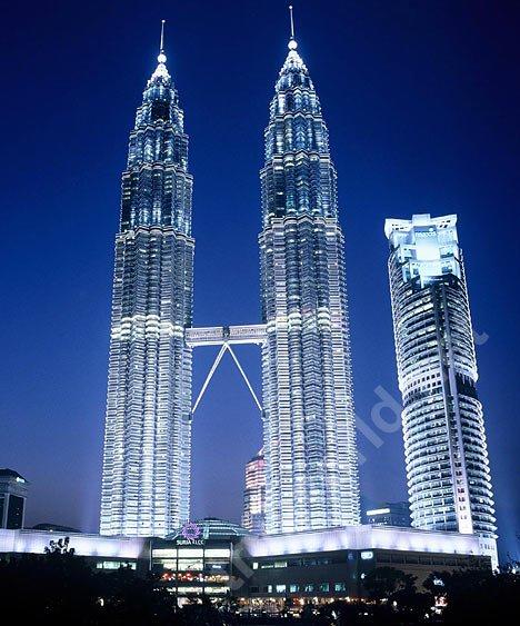 Малайзия, Куала Лумпур «Башни-близнецы Петронас