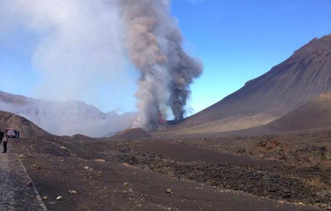 Извержение вулкана в Кабо-Верде CVAVR AVR CodeVision cvavr.ru