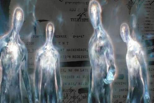 """Рассекреченные документы ФБР содержат факты посещение Земли """"гостями из других измерений"""""""
