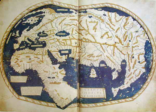 Ученые расшифровали вдохновившую Колумба карту