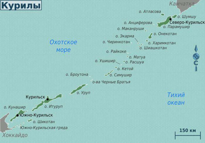 богатства курильских островов: