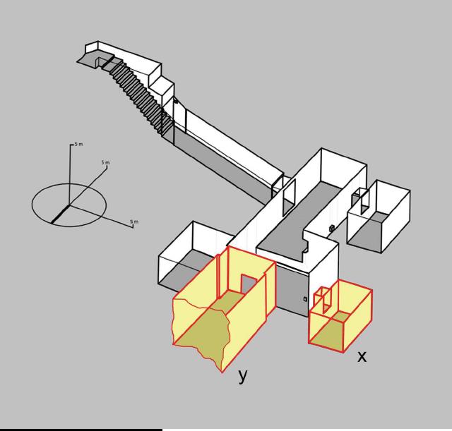 Схема гробницы Тутанхамона со