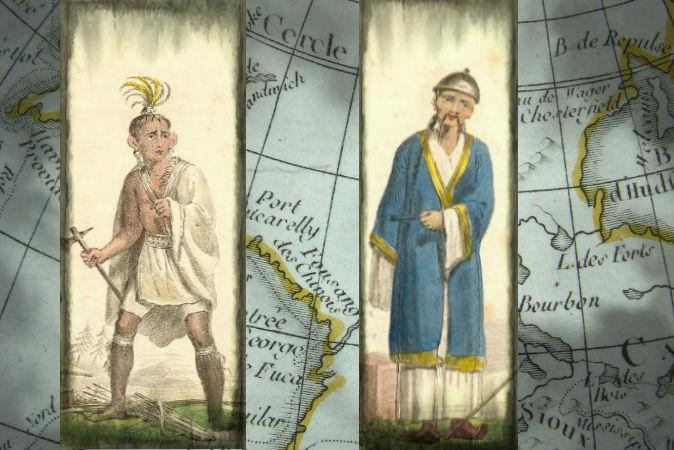 Древние китайцы и индейцы контактировали друг с другом