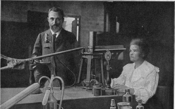 Картинки по запросу 1898 -Мария и Пьер Кюри впервые получили радий.