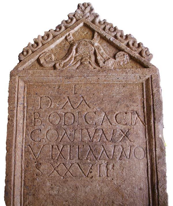 Римское надгробие с кельтским именем найдено в Англии CVAVR AVR CodeVision cvavr.ru