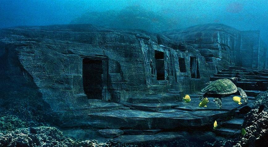 Тайна подводного города у острова