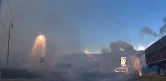 Взрыв на фабрике фейерверков в Колумбии CVAVR AVR CodeVision cvavr.ru