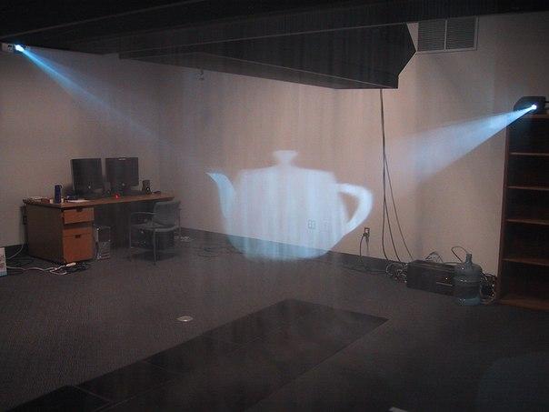 Голограмма в воздухе