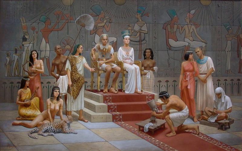 голая под юбкой в египте