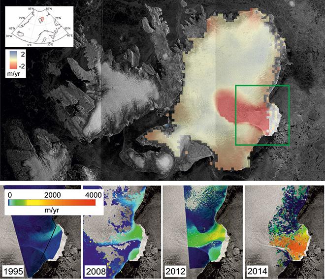 Норвежский ледник Остфонна уменьшился на 50 метров CVAVR AVR CodeVision cvavr.ru