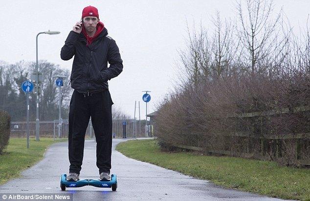 Разработан самобалансирующийся скейтборд CVAVR AVR CodeVision cvavr.ru