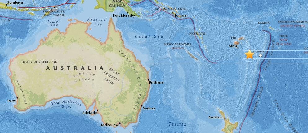 У архипелага Фиджи зафиксировано землетрясение магнитудой 6,1 CVAVR AVR CodeVision cvavr.ru