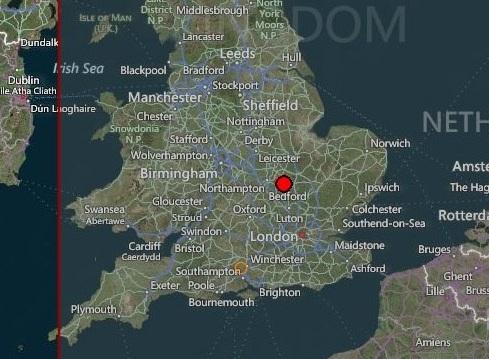 В Англии произошло землетрясение магнитудой 3.9 CVAVR AVR CodeVision cvavr.ru