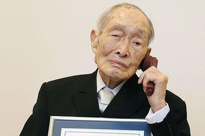 Старейшему мужчине на Земле - долгожителю японцу Сакари Момои исполнилось 112 лет CVAVR AVR CodeVision cvavr.ru