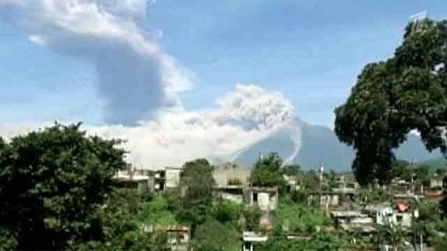 В Гватемале извергается вулкан Фуэго CVAVR AVR CodeVision cvavr.ru